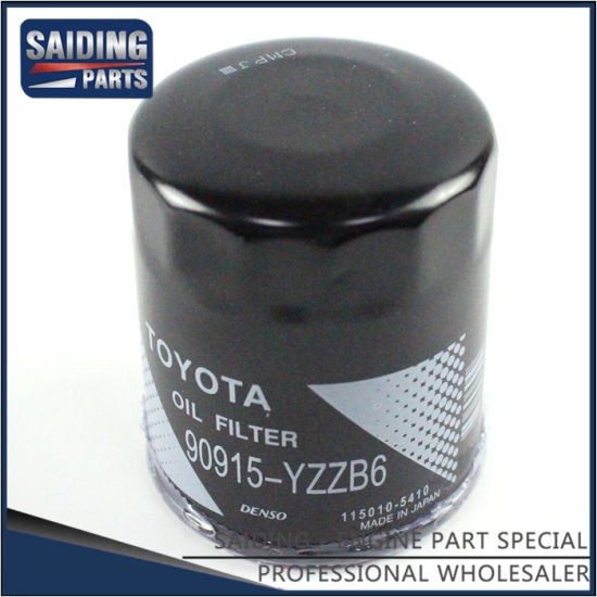 Car Oil Filter for Toyota Land Cruiser 1grfe 2uzfe Engine Parts 90915-Yzzb6
